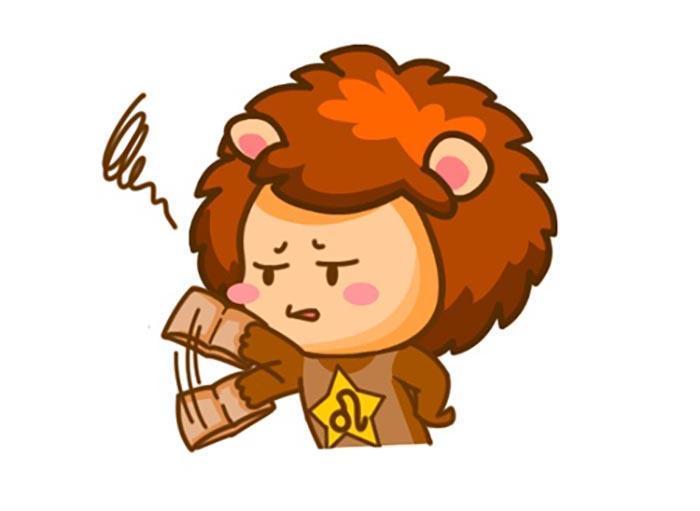 獅子座生氣